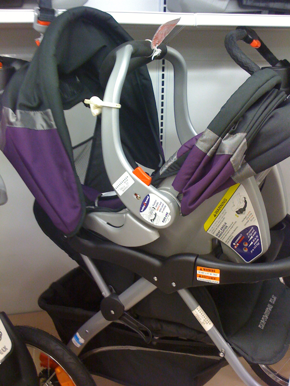 Jogger Stroller With Infant Car Seat